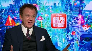 Ralph Breaks the Internet: John C. Reilly Official Movie Interview