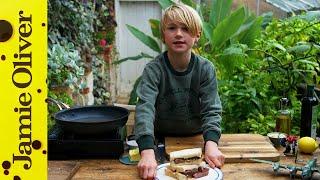 Simple Steak Sandwich | Buddy Oliver | 2 of 5 #KitchenBuddies