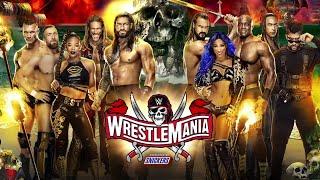 NL Live - WWE WrestleMania 37! [WWE 2K20 Simulation]