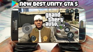 Download REAL  GTA 5 mobile/ Unity best version apk Android/IOS working game only free GTA 5  Unity