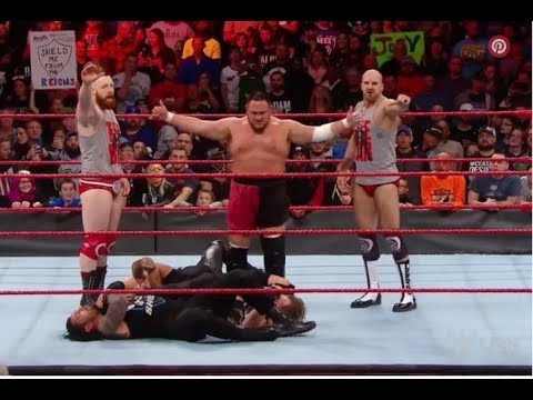 Samoa Joe, The Bar decimate The Shield to open Raw - Daily News