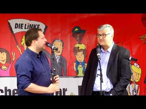 Interview mit Tilo Kießling zur Bundestagswahl 2017, Dresden 11.09.2017