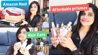 Affordable Perfumes amp AMAZON Haul Sana K