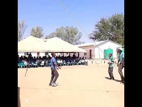 Marapong Primary school(BOTSWANA);; kids dancing to Magwaza-Chandapiwa