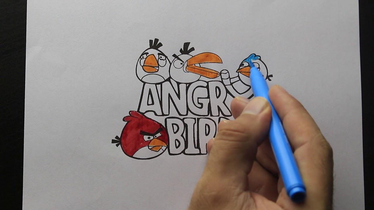 Angry Birds Boyama Youtube