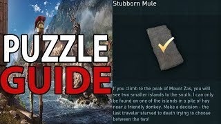Stubborn Mule Puzzle Guide (AC Odyssey) | Assassins Creed Odyssey