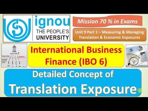 Download IBO 6 : CONCEPT OF TRANSLATION EXPOSURE: UNIT 9 : MISSION 70% : JUNE/DEC EXAMS IMPORTANT Q & A