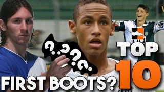 Top 10 Player Debut Boots - What Did Ronaldo, Messi, Neymar Wear?