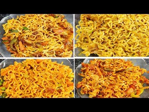4-most-unique-types-of-maggi-|-chinese-maggi-|-chilli-maggi-|-tomato-maggi-|-dry-chatpati-maggi