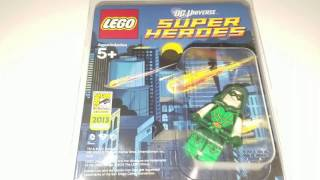 Lego 2013 SDCC San Diego Comic Con Exclusive Green Arrow Minifigure limited to 200 Total Figures