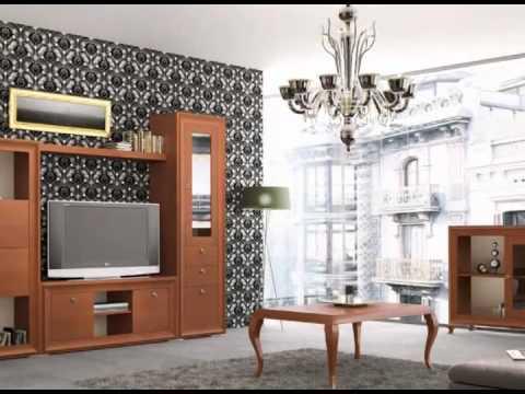 Muebles de salon para television youtube for Muebles para salon