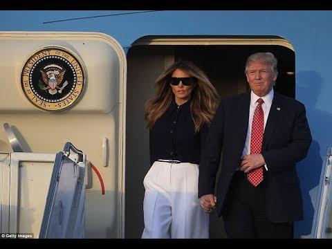Breaking news President Trump & Melania Depart Washington DC for Asia Trip ✈✈✈✈