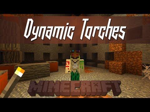 Minecraft - Dynamic Torches