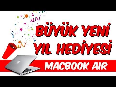 Büyük Yeni Yıl Hediyesi - Apple Macbook