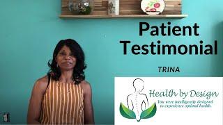 Patient Testimonial Trina