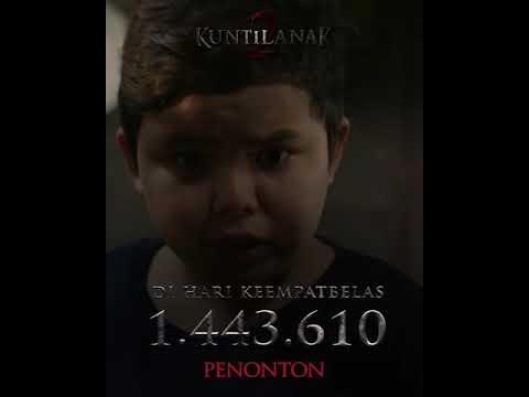 HARI KE 14 #FilmKuntilanak2 Sudah Mencapai 1.443.610 Penonton