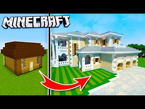 Realistic Mansion in Minecraft! (Noob to Pro House)