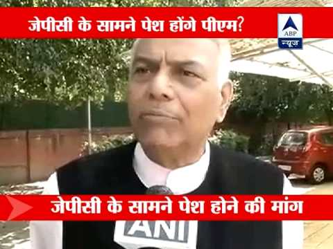 Yashwant Sinha writes to PM, asks him to appear before panel on 2G scam