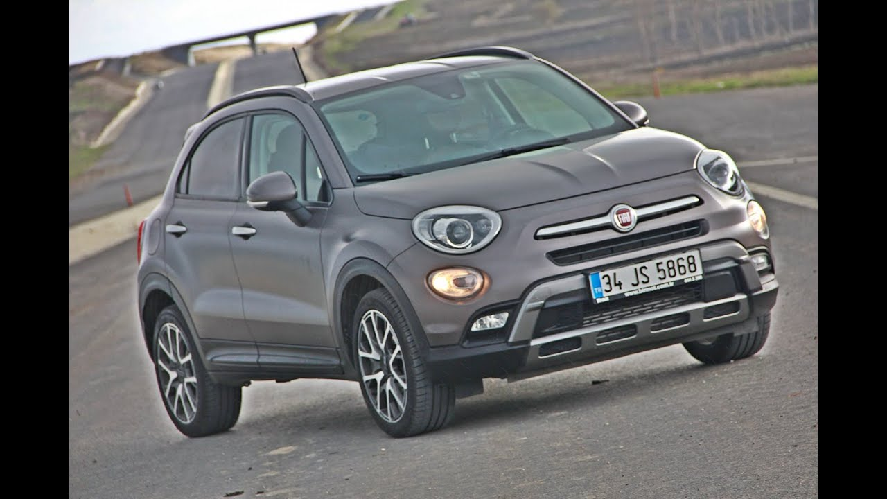 fiat 500x 1 6 diesel test drive review youtube. Black Bedroom Furniture Sets. Home Design Ideas