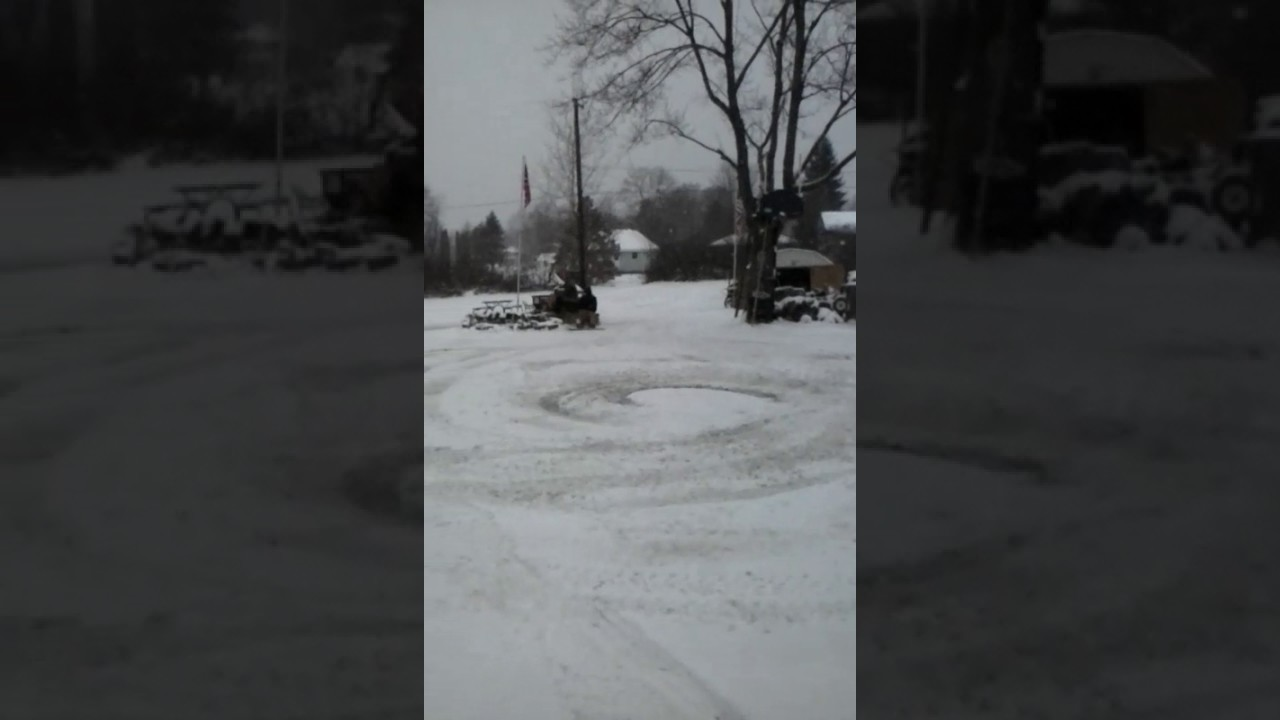 redneck sled riding youtube