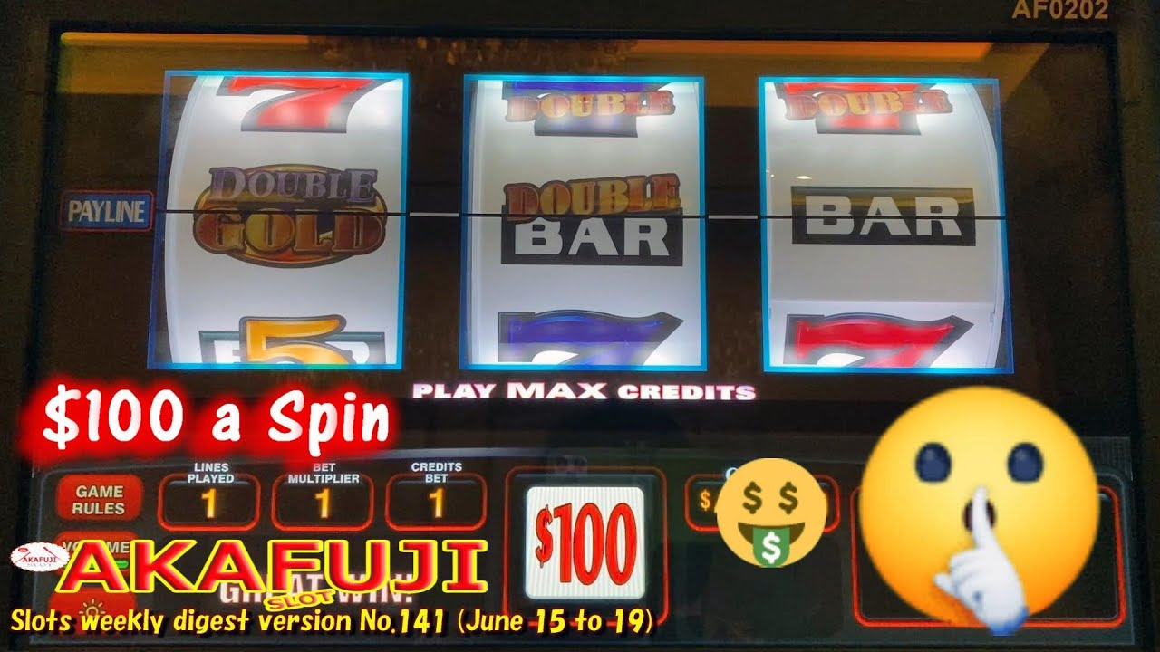 Slots weekly digest version for You who are busy No.141🎰 Double Diamond $100 Slot Double Double Gold