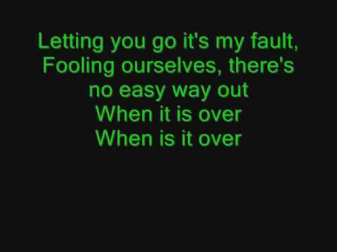 Out of My Hands- Green River Ordinance ( with lyrics)