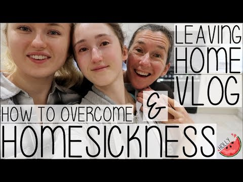HOW TO OVERCOME HOMESICKNESS   THE REALEST VLOG MOVING BACK TO UNI