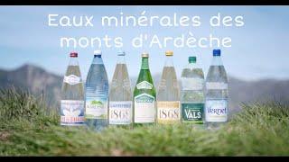 Eaux minérales des Monts d'Ardèche
