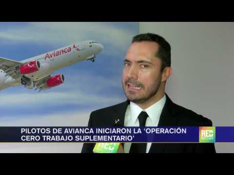 Pilotos de Avianca iniciaron la 'operación cero trabajo suplementario