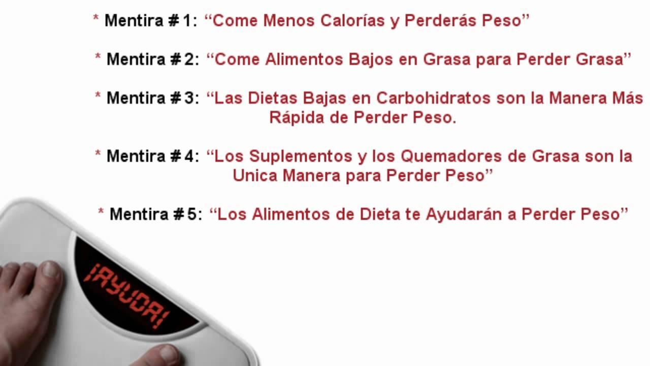 Tips para perder peso adelgazar sin dejar de comer for Que hago hoy para comer