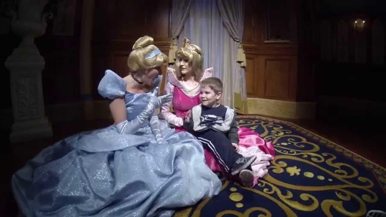 Cinderella Aurora Meet And Greet At Walt Disneyworld Disneymagic