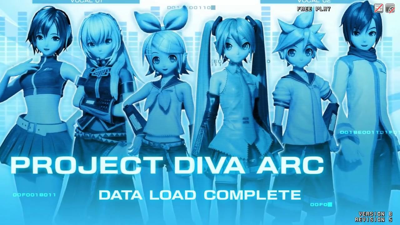 Hatsune Miku Project DIVA Arcade PC TeknoParrot + Link Download【歌に形はないけれど】