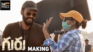 Guru Telugu Movie Making | Venkatesh | Ritika Singh | Santhosh Narayanan | Sudha Kongara