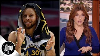 'The Warriors' biggest unfair advantage is that they have better players' -Rachel Nichols | The Jump