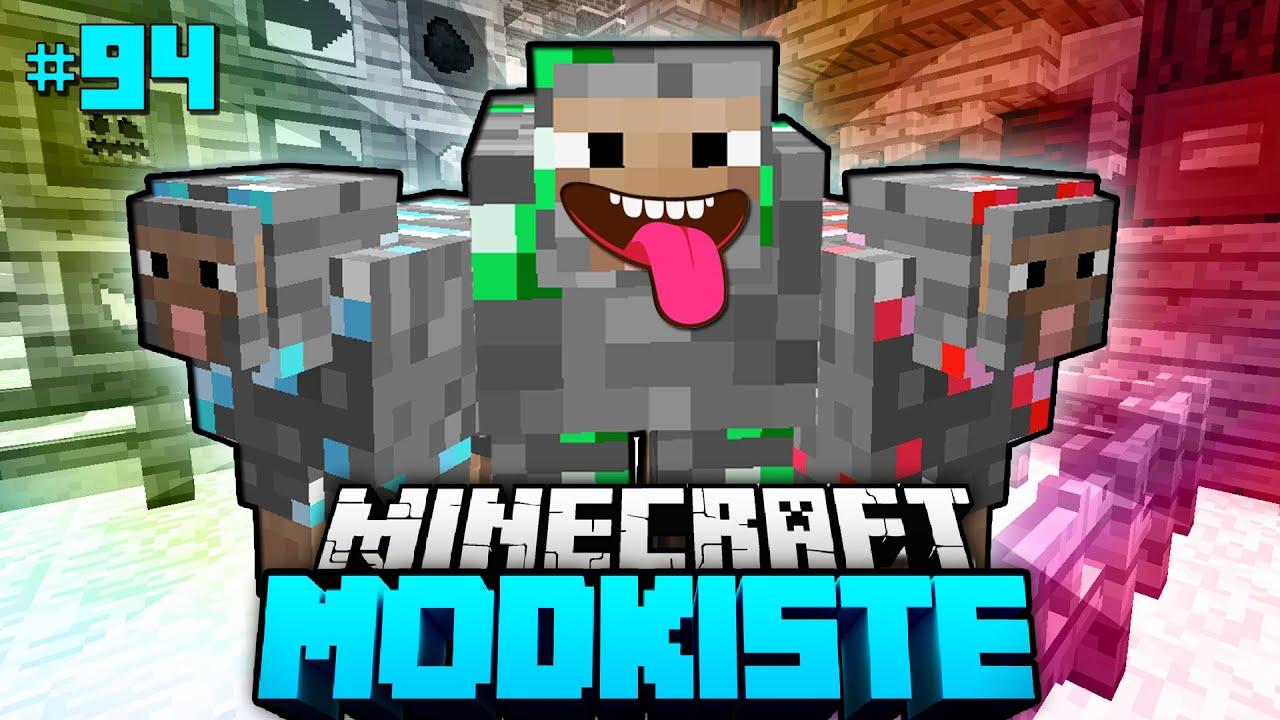 BUNTE KAMPFSCHAFE Minecraft Modkiste DeutschHD YouTube - Minecraft modkiste spielen