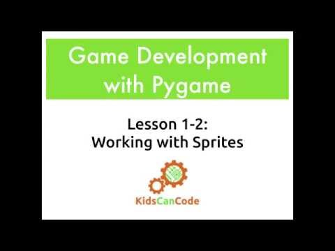 Pygame Lesson 1-2: Working with Sprites · KCC Blog