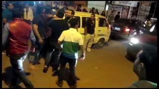 Massive Street Fight at #Titos Lane by Indian Tourists with Locals