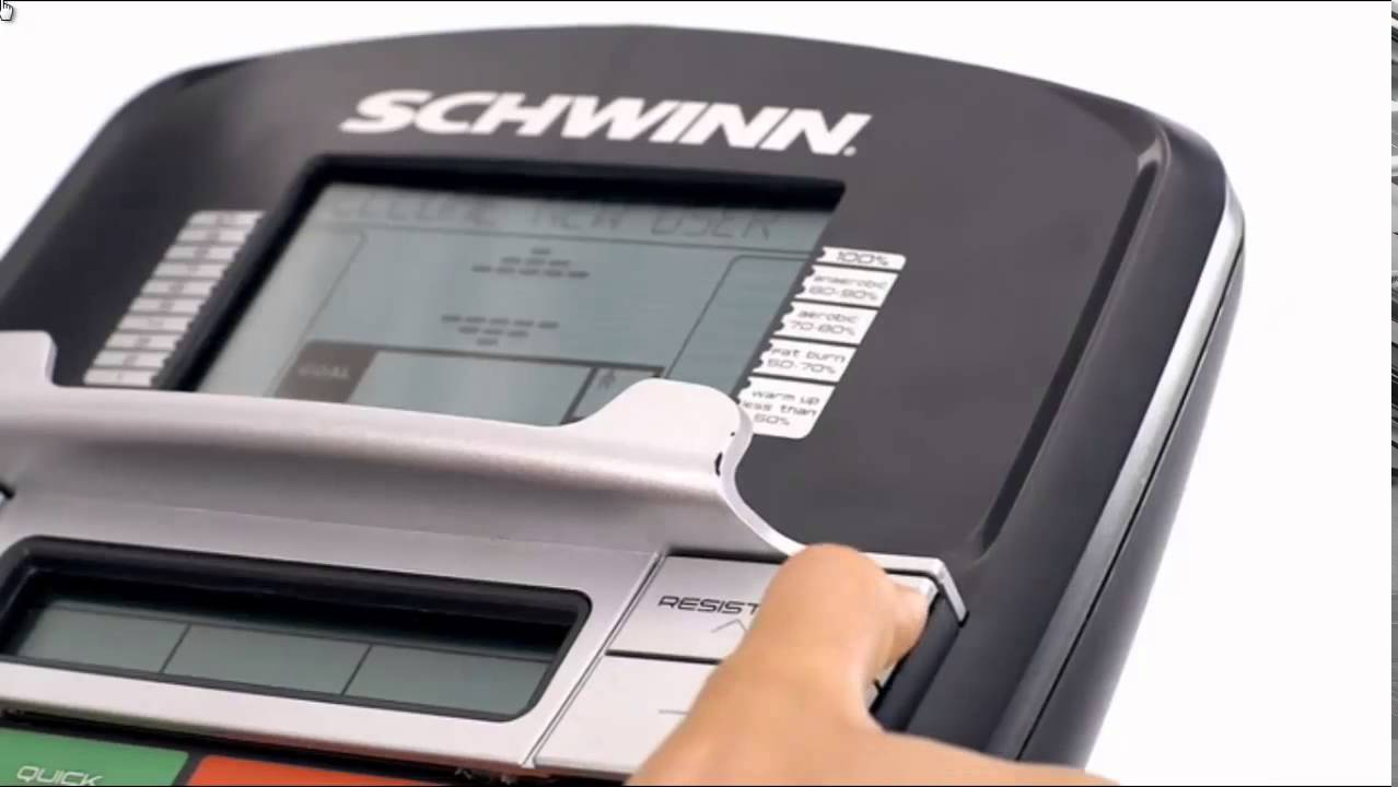 Schwinn 230 Recumbent Exercise Bike Youtube