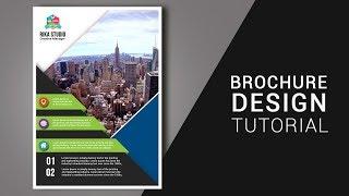 Cara Membuat Brosur dengan Photoshop Business Brochure Design
