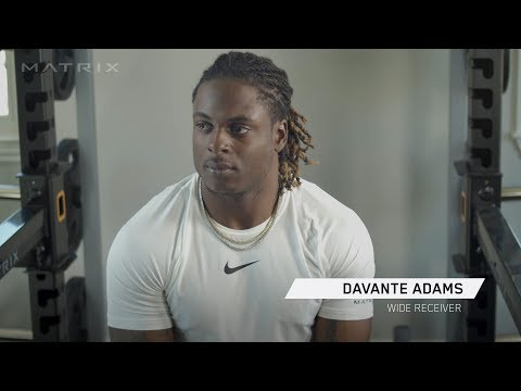 Davante Adams – Working Out At Home