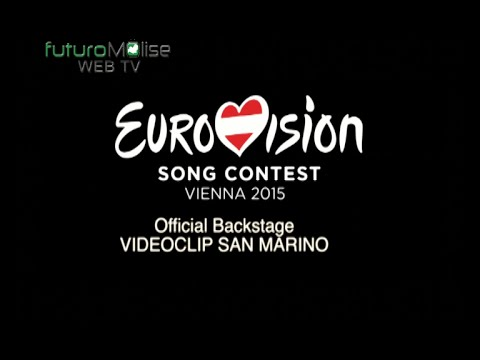 """Official Backstage di """" Chain of Lights""""(San Marino) Eurovision Vienna 2015"""
