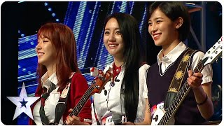 Bebop Rockers Have Skill To Match Beauty | Asia's Got Talent Episode 4