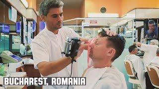 💈 Frizebad Barbershop Head Massage and Romanian Hair Styling - Bucharest Romania