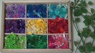 (ペーパーフラワー)可愛い!カラフルなフラワーBOXの作り方【DIY】(Paper Flower) Cute! Colorful flower box