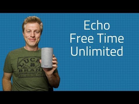 Amazon FreeTime Unlimited - Kid Friendly Echo Devices & Setup