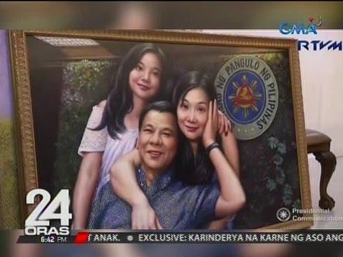 24 Oras: Painting, regalo ni Chinese Amb. Zhao sa ika-72 kaarawan ni Pangulong Duterte