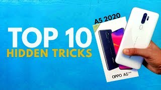 OPPO A5 2020 Top 10 Hidden Features Trick & Tips   Hindi