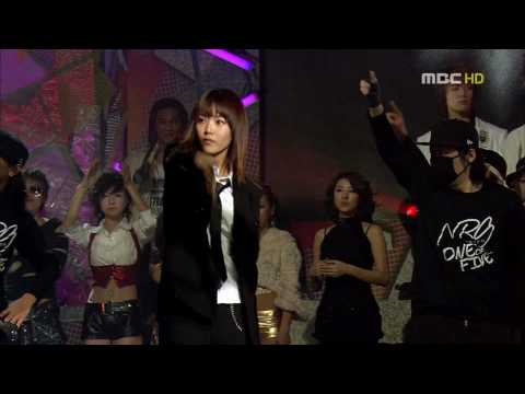 [HD] Star Dance Battle - Bae Seul Ki and Chun Myung Hoon Bokko Dance 01.29.2006