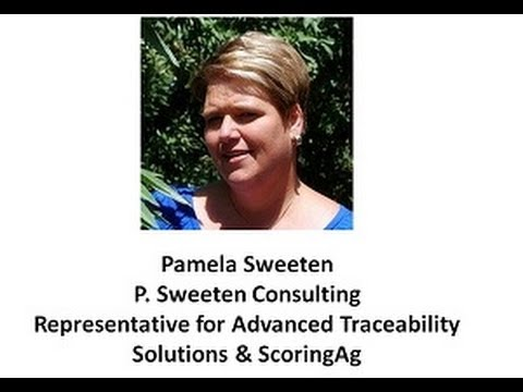 Traceability and the Food Safety Modernization Act  Pamela Sweeten