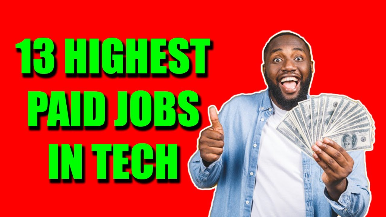 13 Highest Paying Jobs in I.T. for 2020
